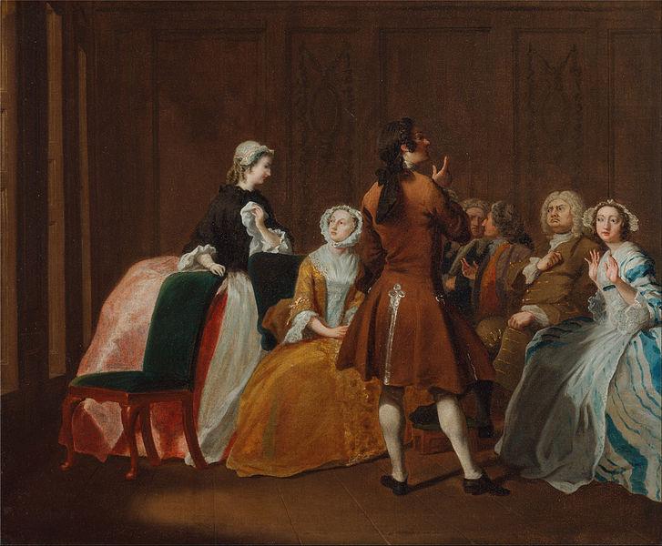 "Joseph Highmore,The Harlowe Family, from Samuel Richardson's ""Clarissa"" (btw.1745 and 1747)"