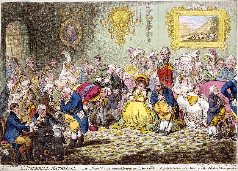 L'Assemblée NationaleGilray 1804
