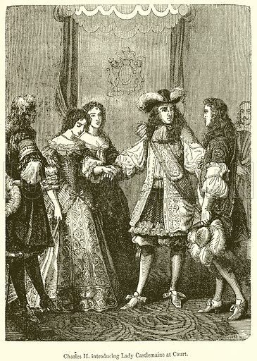 Charles-II-Introducing-Lady-Castlemaine-at-Court