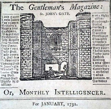 Gentleman's Magazine 1731