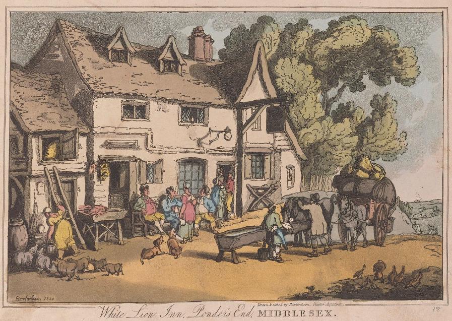 Inn Rowlandson 1822