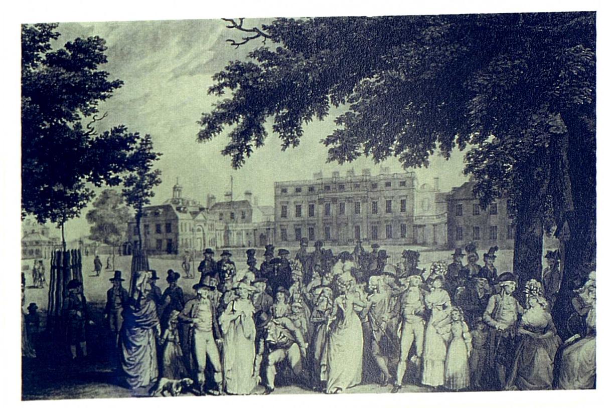 Promenade in St. James's Park (London, 1793)