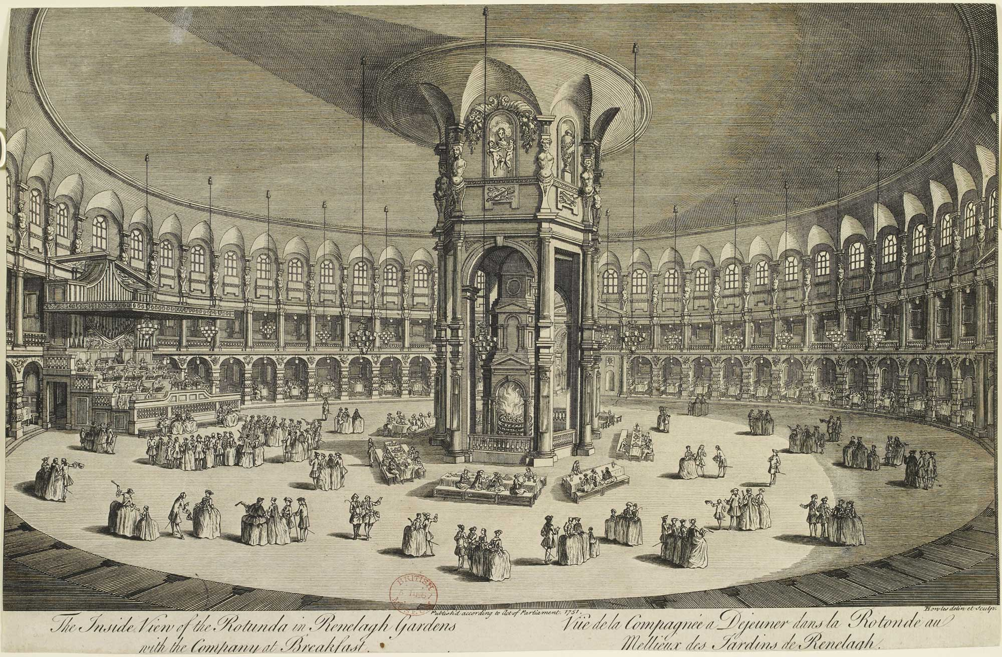 Ranelagh Rotunda British 1751 Library Shelfmark: C103k.11