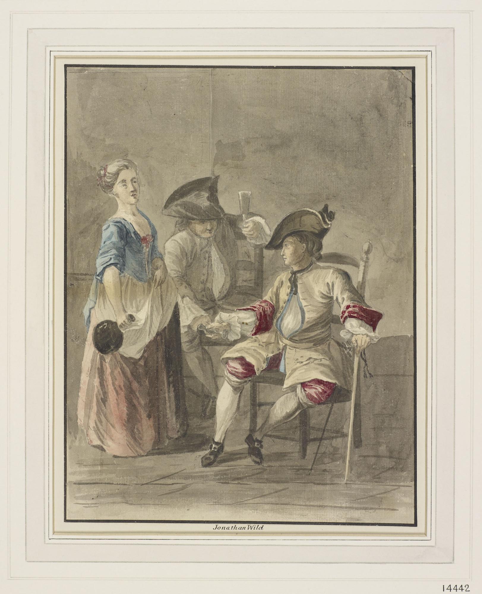 Paul Sandby,Jonathan Wildc. 1770