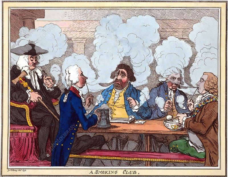 Smoking Club Gilray