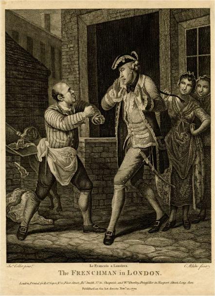 Frenchman in London (1770)