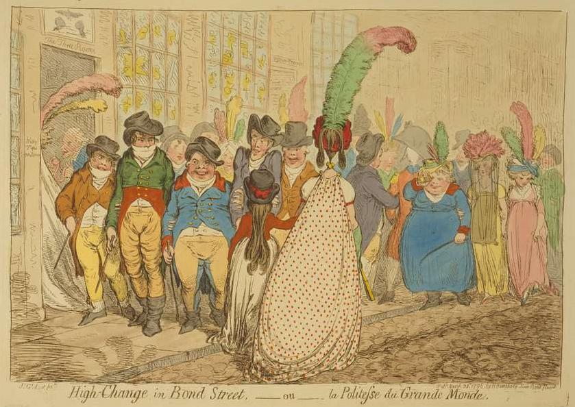 Gilray, Bond-Street (1796)