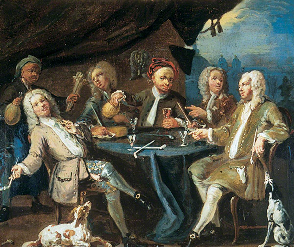 William Hogarth, The Kit Kat Klub