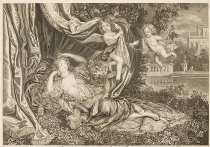 Nell Gwyn and her two sons c.1677-80