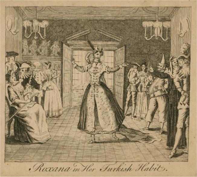 Roxana in her Turkish habit (1765)