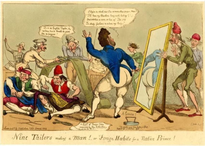 Nine Tailors 1819